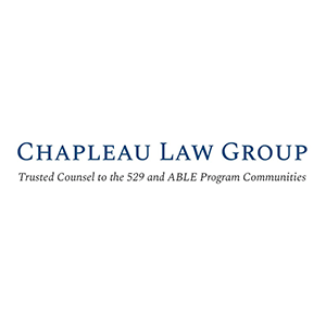 Chapleau Law Group. Trusted Counsel to the 529 and ABLE Program Communities
