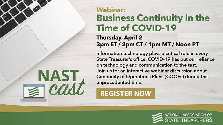 Webinar: Business Continuity in the Time of COVID-19