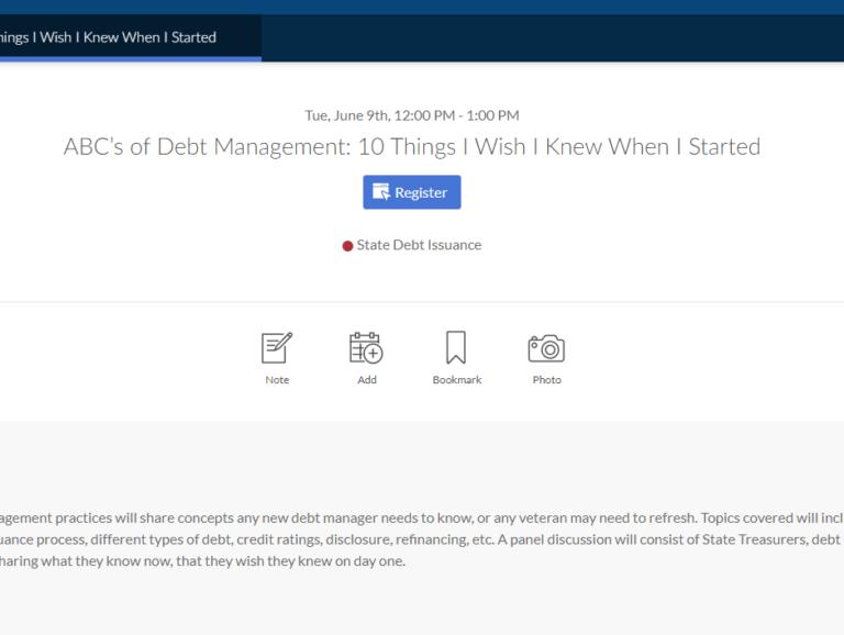 ABC's of Debt Management