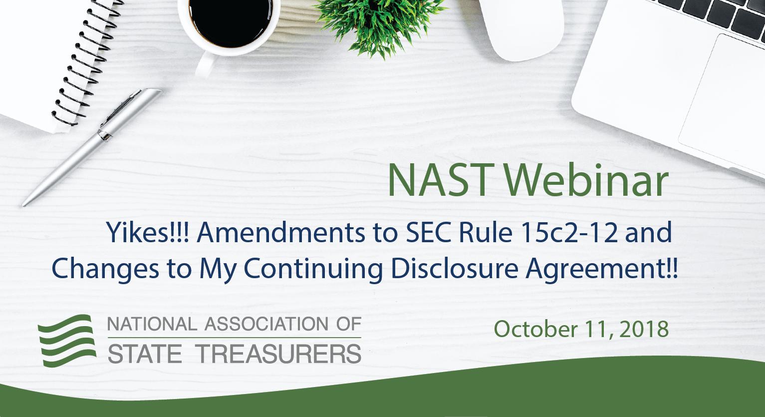 NAST Webinar - SEC Rule 15c2–12