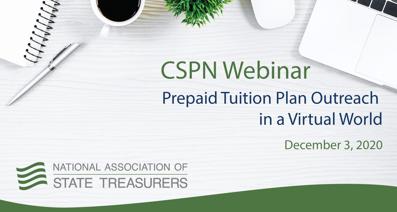 Prepaid Tuition Plan Outreach in a Virtual World