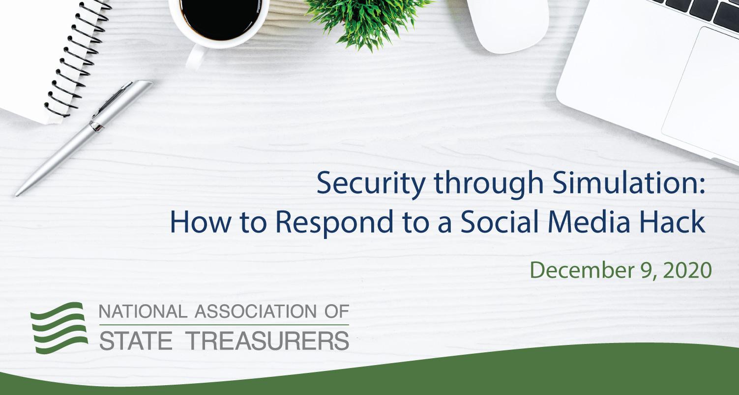 Security through Simulation: How to Respond to a Social Media Hack