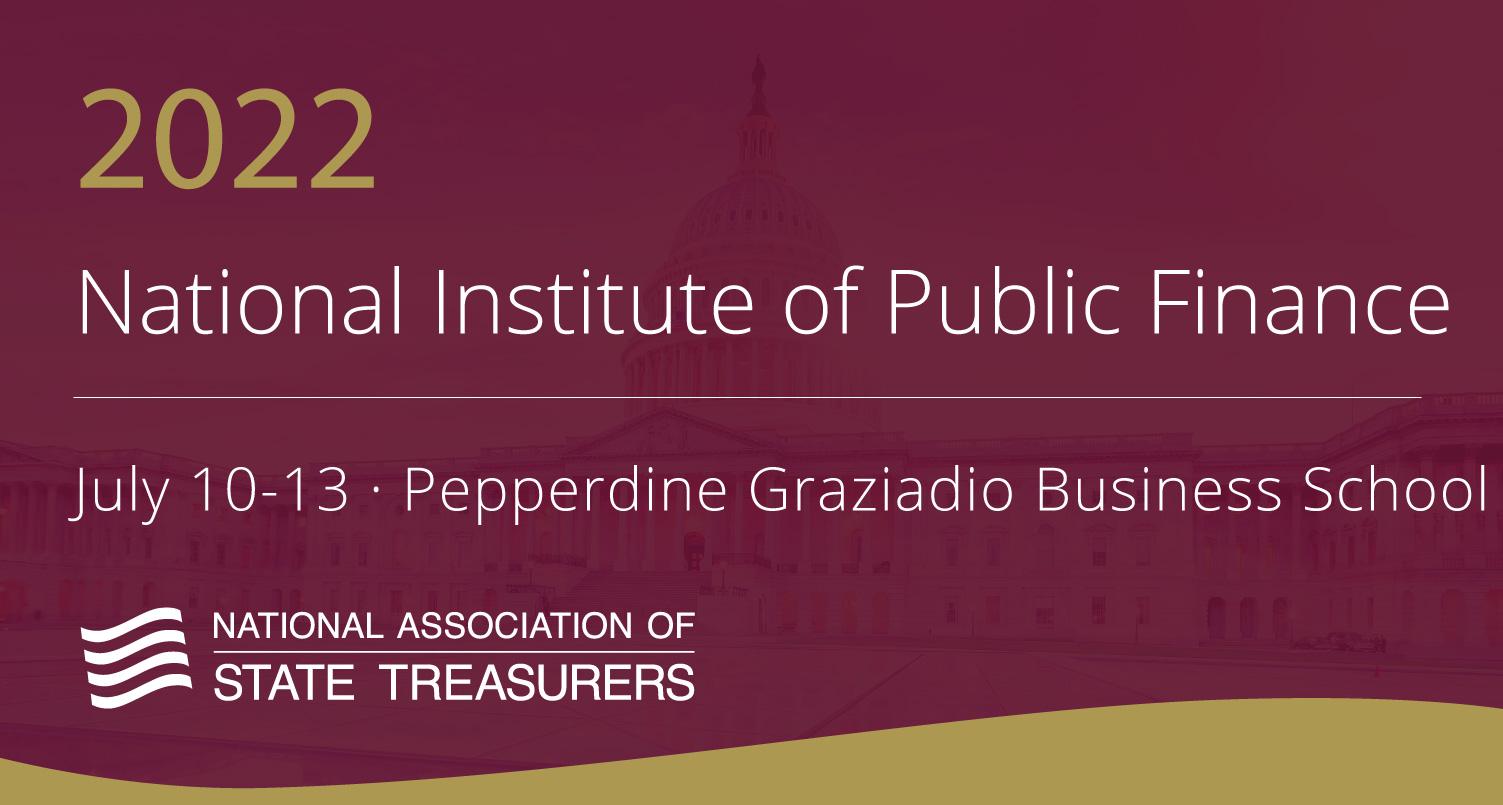 National Institute of Public Finance 2022