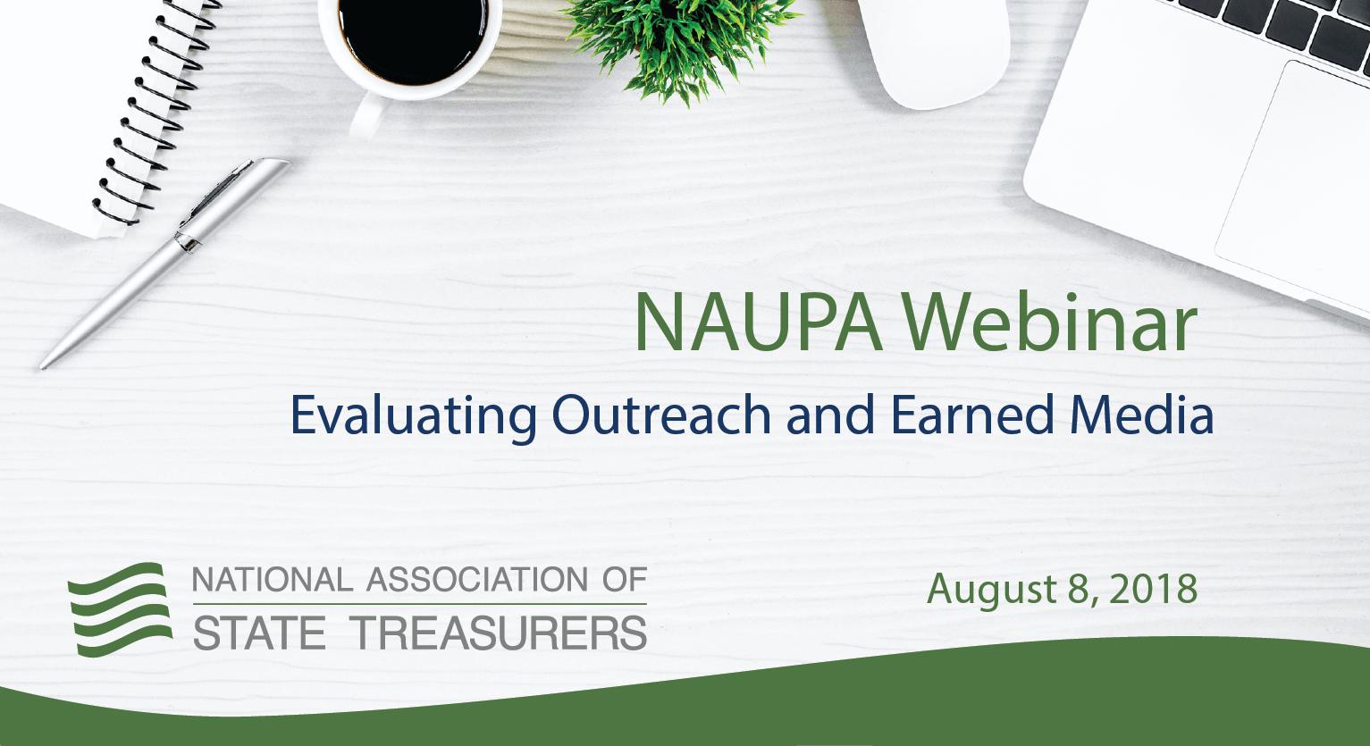 NAUPA Webinar - Elevating Outreach and Earned Media