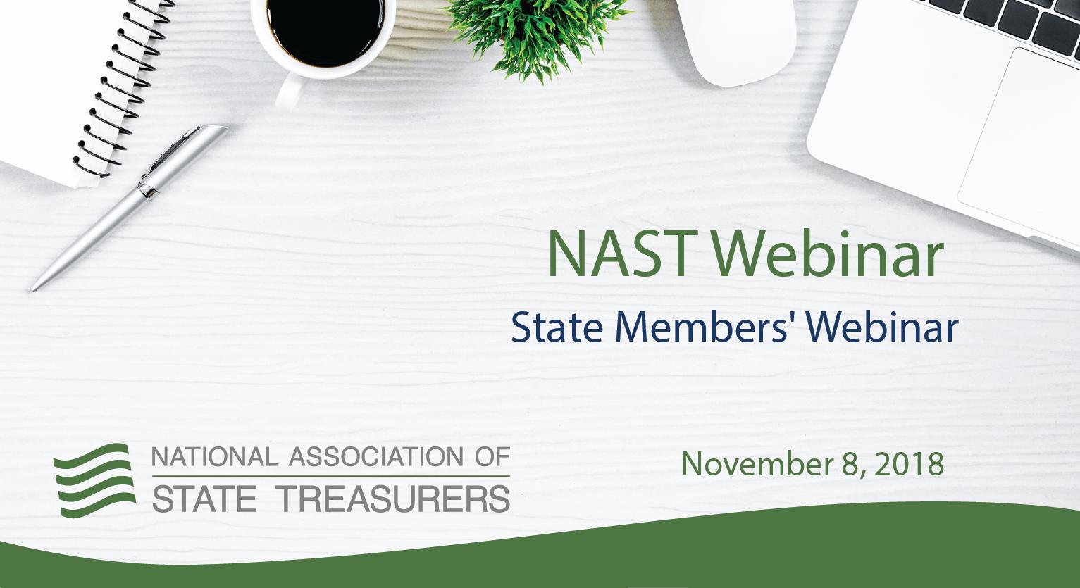 State Members' Webinar